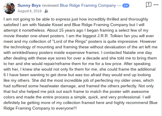 Blue Ridge Framing Company Georgia Picture Custom Customer Review 10.png